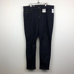 NWT Gap 1969 Dark Wash Legging Jeans